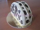 Torta pochette leopardata