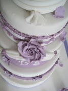 wedding cake lilla