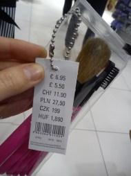 set di pennelli 6.95€