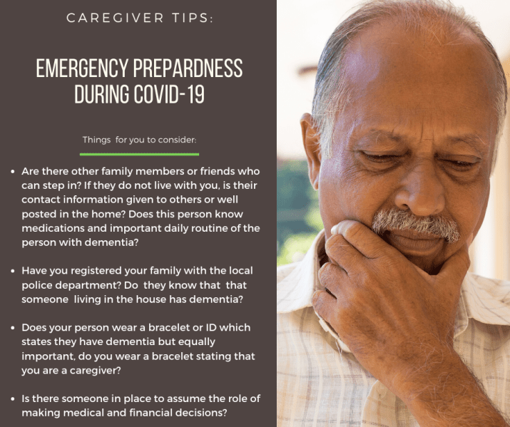 Caregiver tips_ Emergency Prepardness