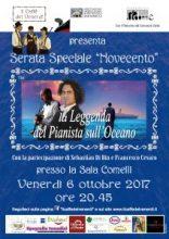 Locandina serata Di Bin e Cevaro 06-10-17