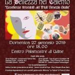 Locandina La bellezza nel talento 27/01/2018