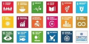 17 obiettivi di sostenibilità