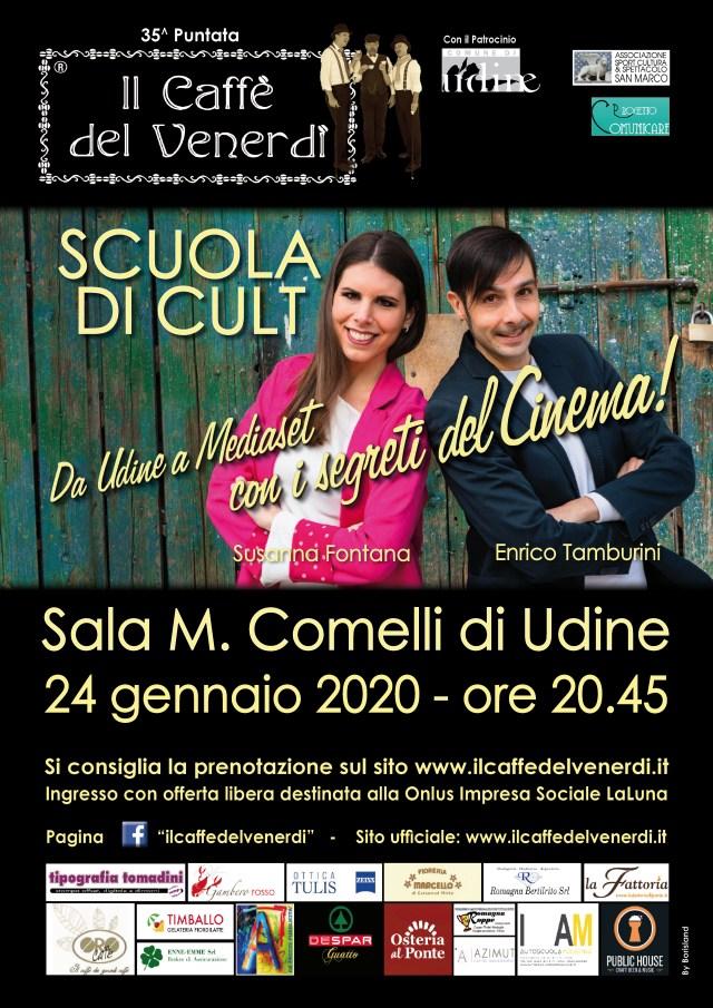 Locandina Scuola di Cult 24-01-2020
