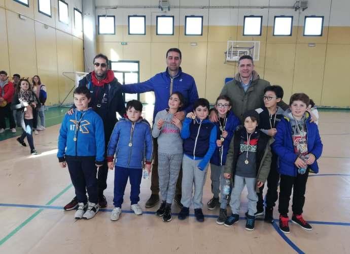 Basket, gli Aquilotti dell'Athena Club vincono il torneo di Palagiano