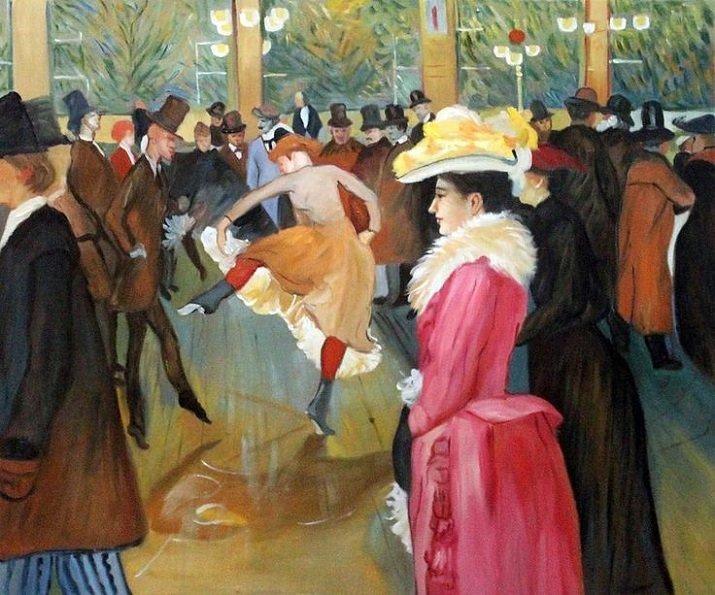 Henri de Toulouse Lautrec – Ballo al Moulin Rouge