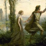 Orfeo e Euridice, poesia di Dino Borcas