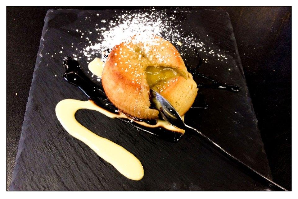 Soufflè di pistacchio