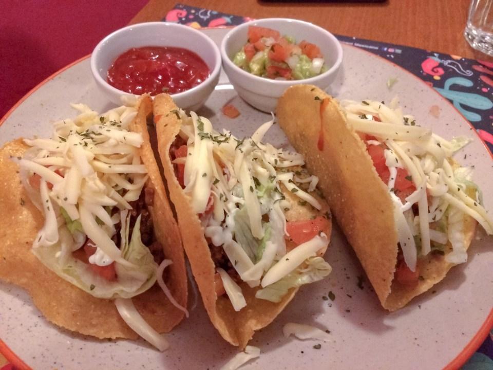 Tacos tex mex
