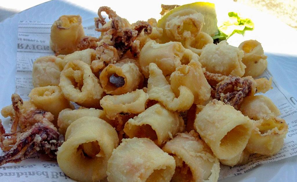 Calamari fritti #foodstories