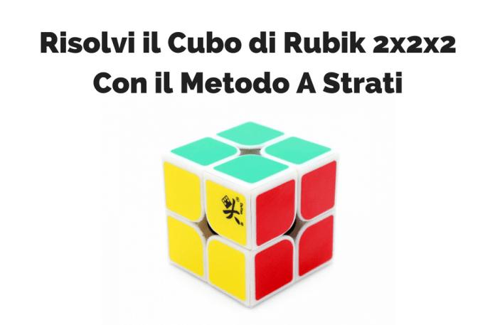 Risolvere il Cubo Di Rubik 2x2