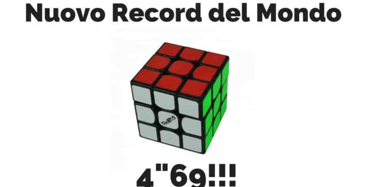 Record del mondo 3×3 : Patrick Ponce supera Feliks Zemdegs
