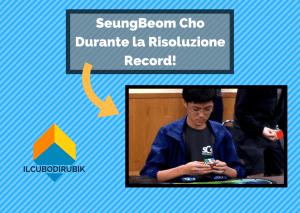 SeungBeom Cho Batte Tutti!!!