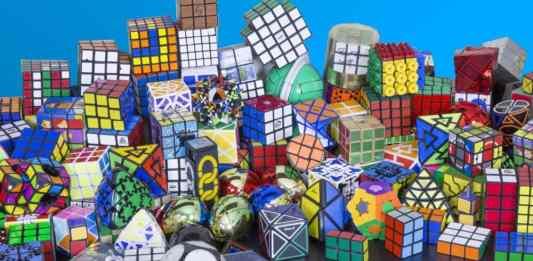 Cubi di Rubik Strani - Collezione