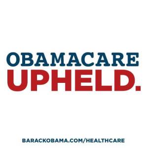 Obamacare Upheld.