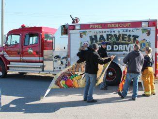 Harvest Food Drive Firetruck