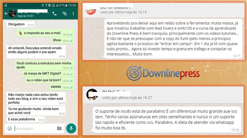 Downline Press: Prospectar Online para Seu MMN usando MKT Digital   Depoimento