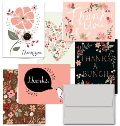 Thank you Potpourri Cards