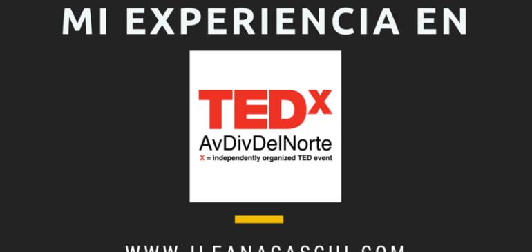 Mi experiencia en TEDx