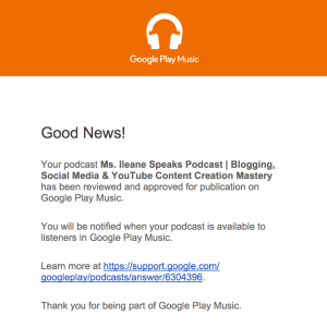 Google Play Accepted