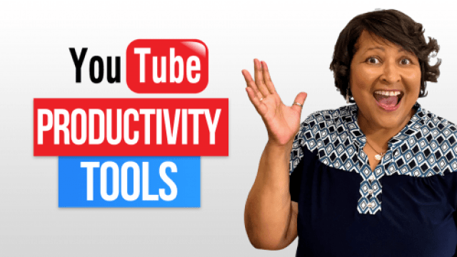 YouTube Productivity Tools Video on YouTUbe
