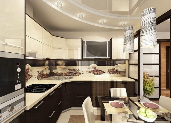 Дизайн интерьера кухни 12 кв.м: планировка, проектирование ...