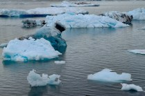 Icebergs in Columbia Bay