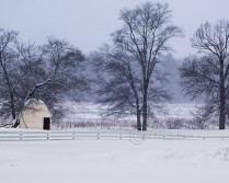 Owen's Poultry Farm in a Blizzard