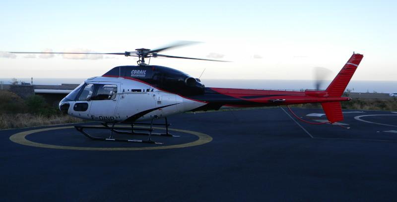 Hélicoptère Réunion