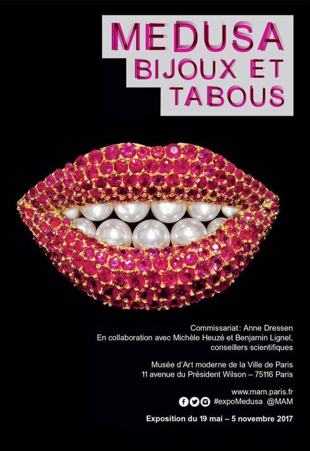 Exposition Médusa «Bijoux et tabous» : 19 mai – 5 novembre 2017