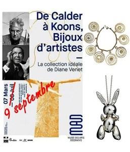 De Calder à Koons : les bijoux d'artistes visibles jusqu'au 9 septembre