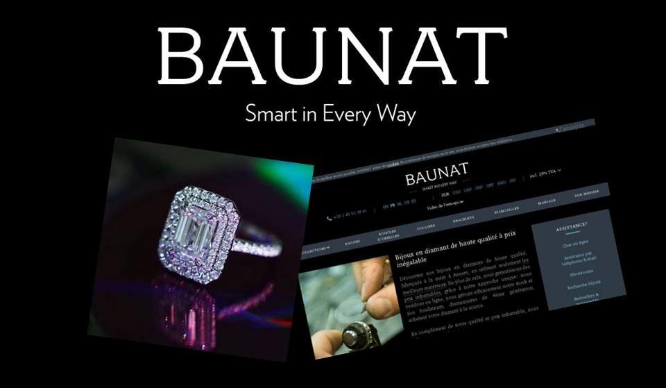 Baunat fait aimer les diamants aux Millennials