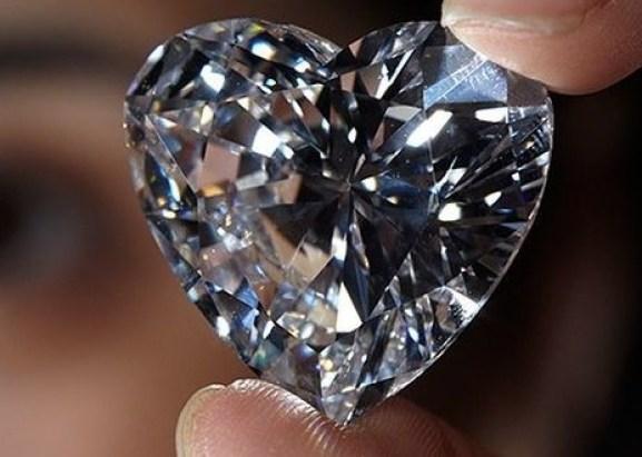 diamant taille coeur