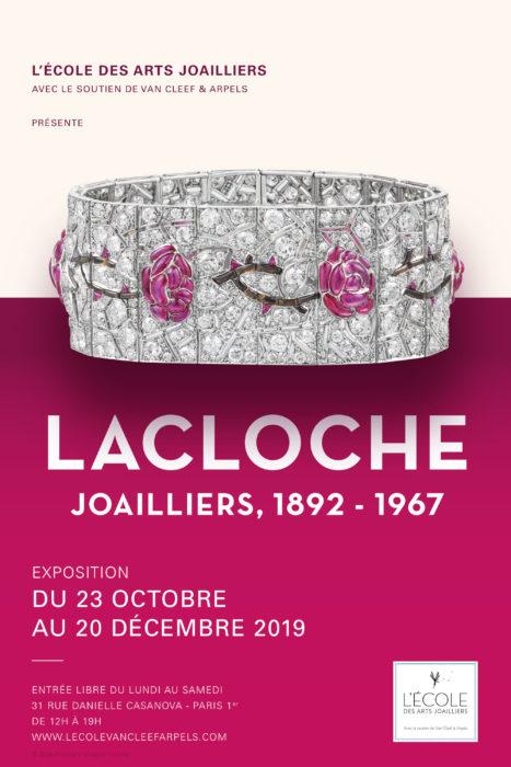 affiche Lacloche Joaillier, Ecole des arts Joailliers