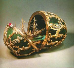 Les oeufs de Fabergé