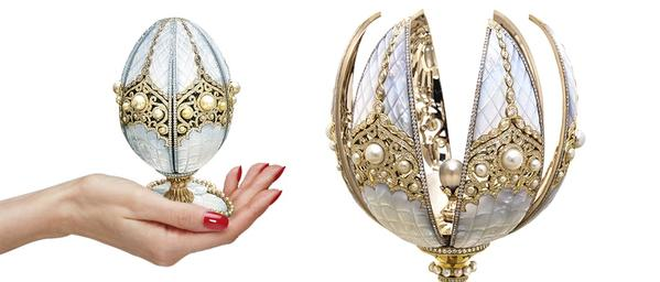 oeuf de perle de Fabergé