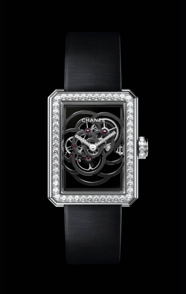 montre Skeleton Chanel