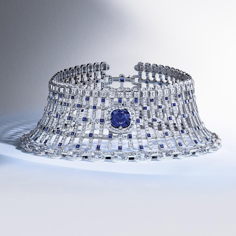 choker - le royaume en saphir - Louis Vuitton