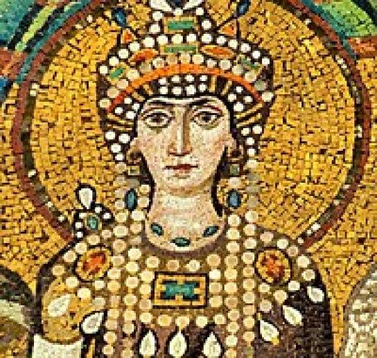 Théodora - mosaïque - basilique San Vidale - Ravenne