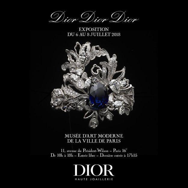 expo Dior affiche
