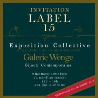 lable 15 galerie wenge affiche