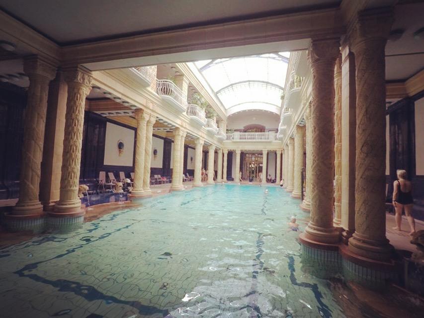 Budapest - Les bains Gellert