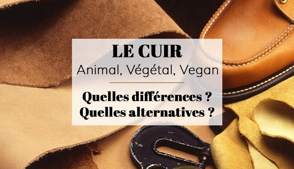 fb80ce2597f0 Cuir vegan ou végétal, découvrez les VRAIES alternatives au cuir