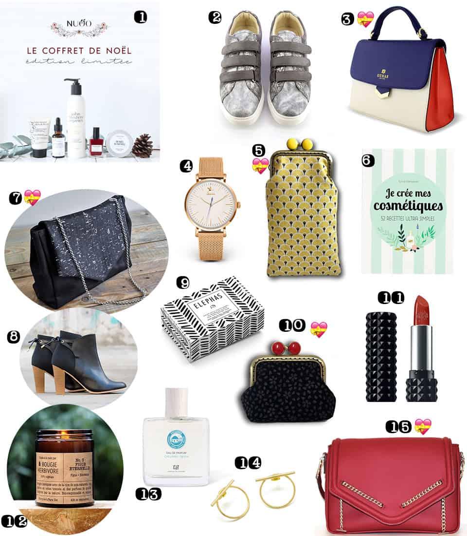 Cadeau De Noel à La Mode.Idées Cadeaux Noël Femme Ma Liste éthique Chic