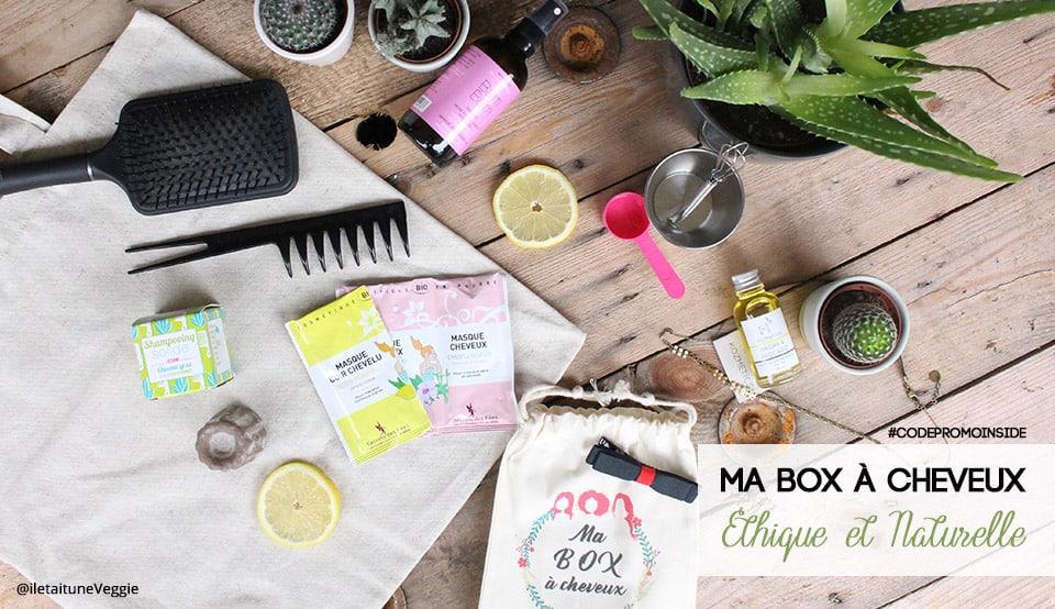 Ma box à cheveux #1, Découverte & Code promo