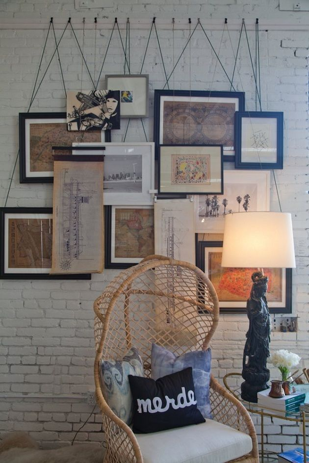 5 Creative Ideas for Hanging Pictures on Picture Hanging Idea  id=38995