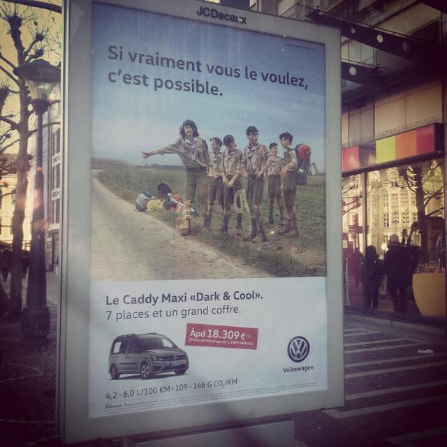 La publicité qui dérangeait les scouts