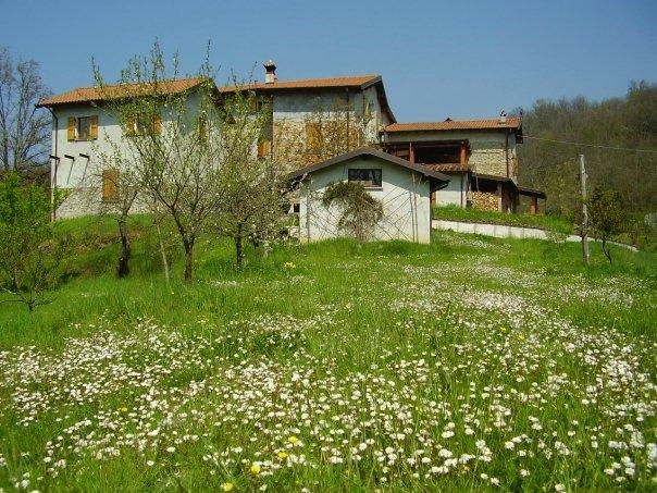 casa della casa che ci ospita in Toscana