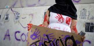 Protesta delle donne in Messico