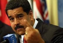 Venezuela-Nicolas Maduro